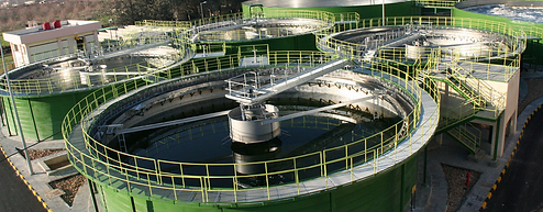 Резервуары для очистки сточных вод