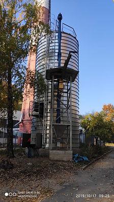 silo for pellet