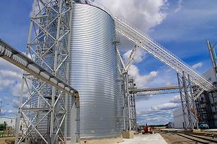 Хранилище  для пеллет на 16 тыс. тонн