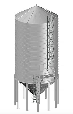 spiral silo
