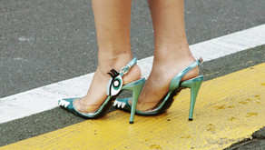 Those are some cracking heels you've got there.