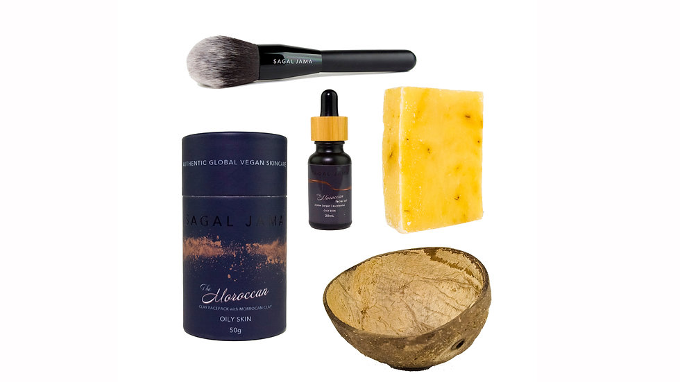 The Moroccan Express Pamper Kit - Oily Skin⁹