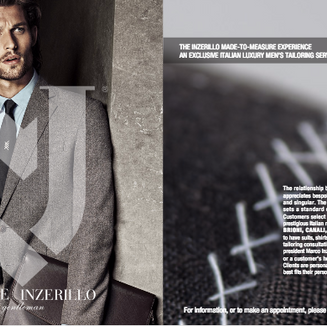 """Michele Inzerillo """"Made-to-Measure"""" US Launch"""