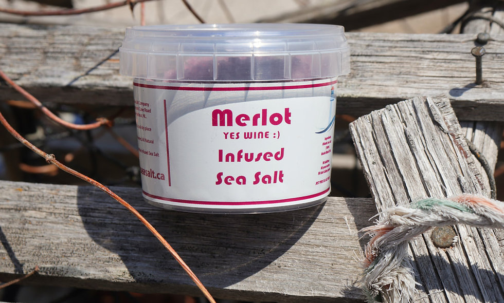 Merlot (YES Wine lol) Infused NL Seasalt