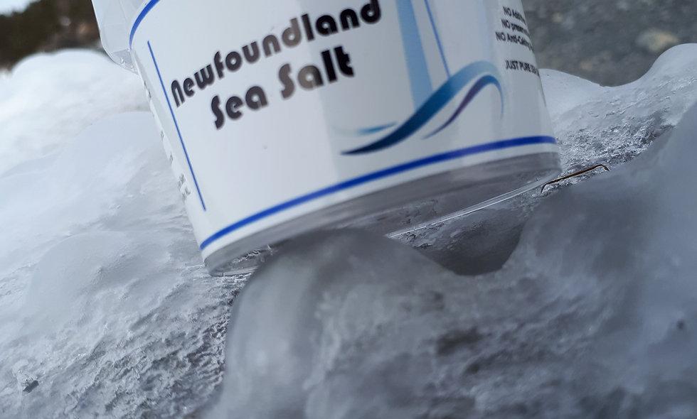 Newfoundland Sea Salt - 72g - FINE Grind