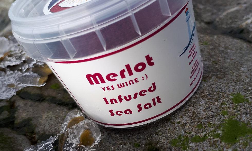 Merlot Infused Sea Salt