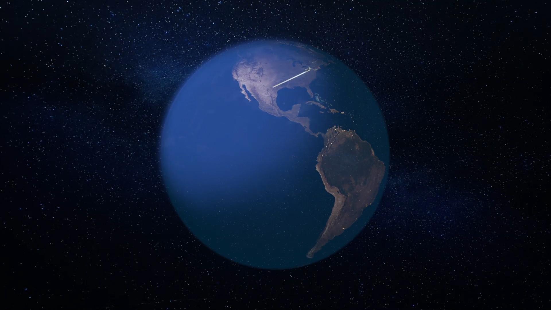 01. One More Orbit Flight Path