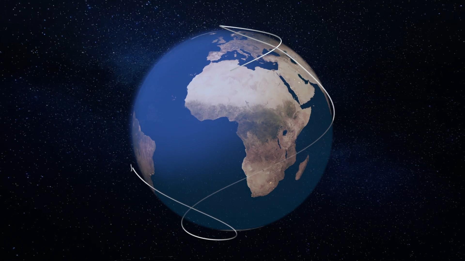 05. One More Orbit Flight Path