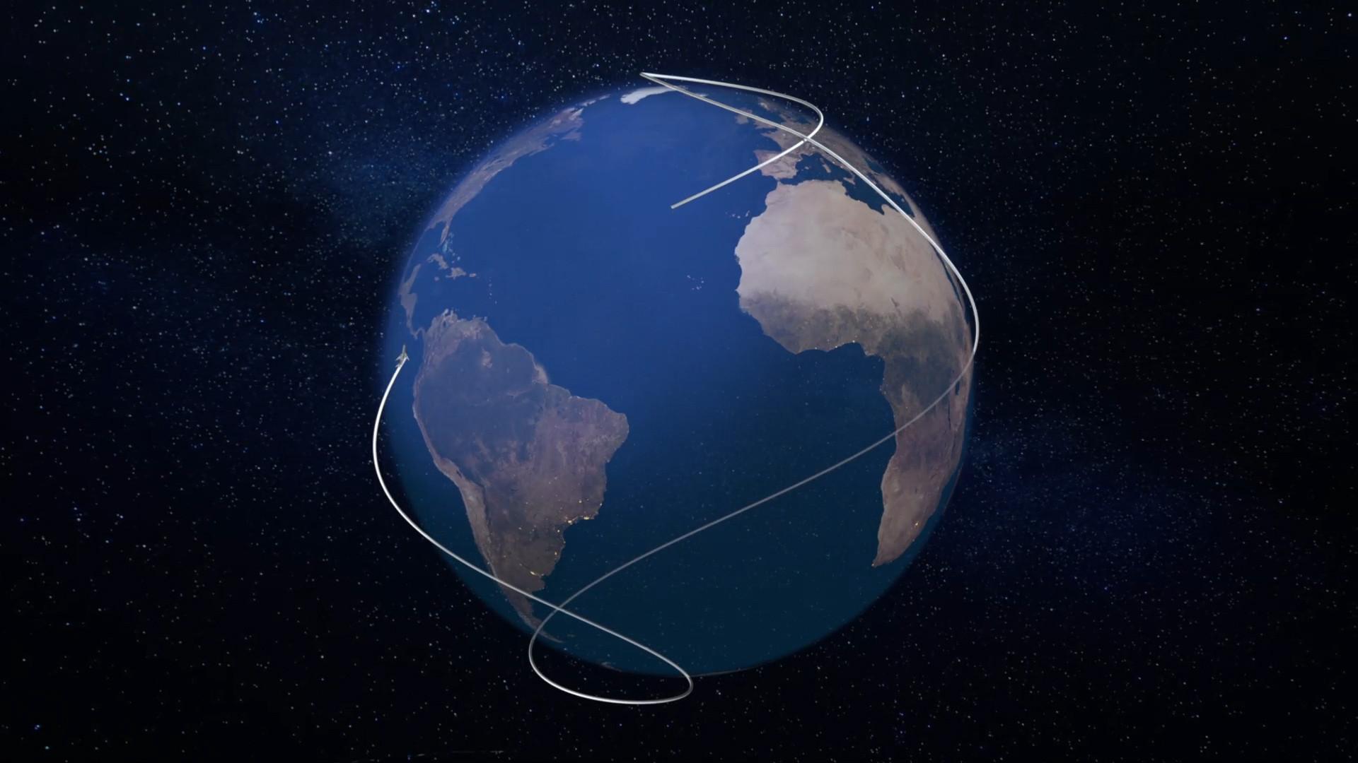 06. One More Orbit Flight Path