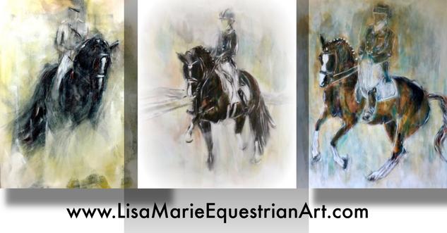 Lisa Marie Bishop Equestrian Art - Seasons 1, 2, 3