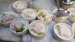 cassolette de saumon