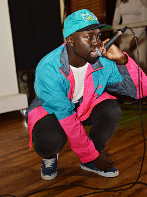 Aaronic Dorsey live at Gallery 992