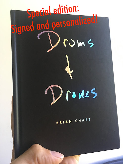 Drums and Drones: Decade -Signed and Personalized!