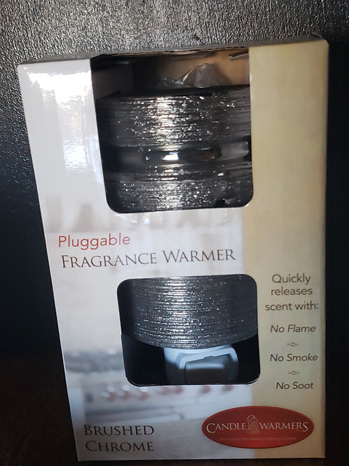Modern Brushed Chrome Pluggable Warmer