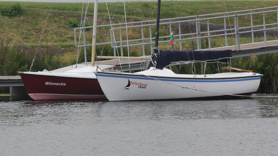 Open zeilboot Hellevoetsluis