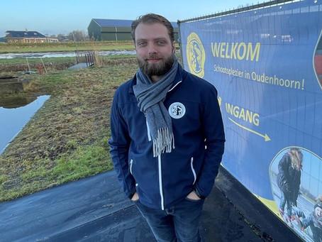 Schaatsers in Oudenhoorn zetten zich schrap voor de vrieskou