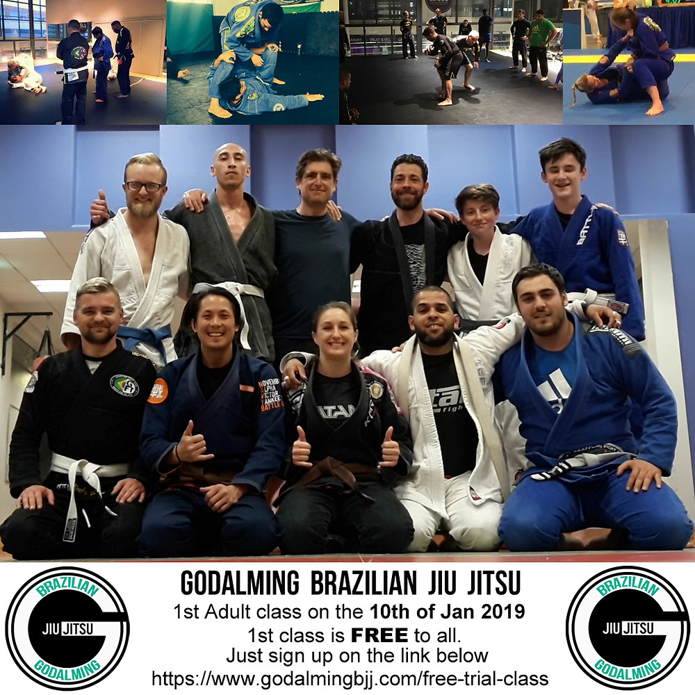 BJJ Adult classes