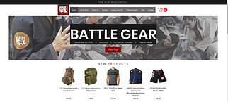 Battle Gear BJJ Equipment website