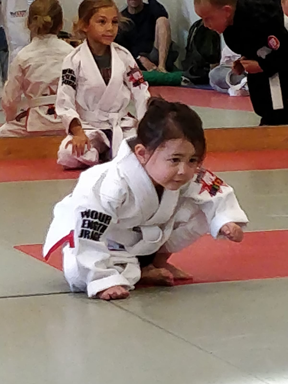 learning to do a bjj roll