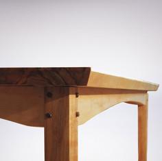 Tisch / Birke Detail