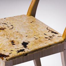 Stuhl / Kastanie Detail