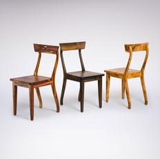Stühle / Zwetschge, Mooreiche, Kirsch