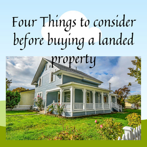 read more if you have decided to buy a landed property