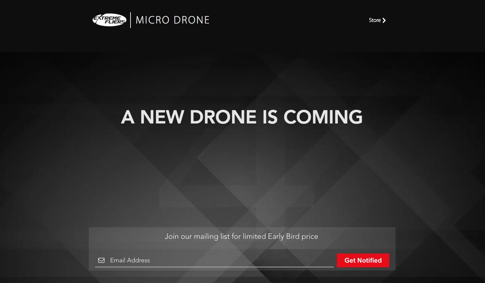 Micro Drone - Coming Soon