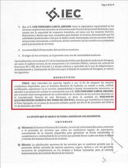 RESOLUTIVO DE CONTRATACION LUIS FERANDO