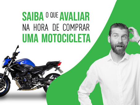 Saiba o que avaliar na hora de comprar uma motocicleta