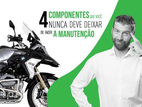 4 componentes que você nunca deve deixar de fazer a manutenção