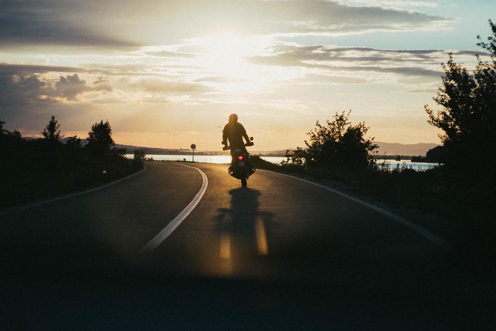 Preparando para viajar de moto