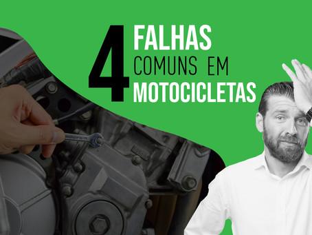 Conheça 4 falhas comuns em motocicletas