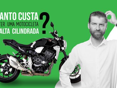 Quanto custa manter uma moto de alta cilindrada?