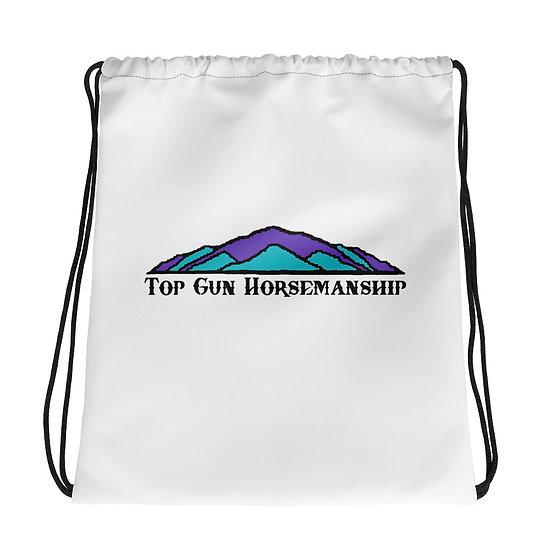 Top Gun Horsemanship Drawstring bag