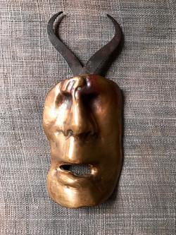 Mask 2, brons