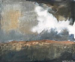 Moving landscape, sold