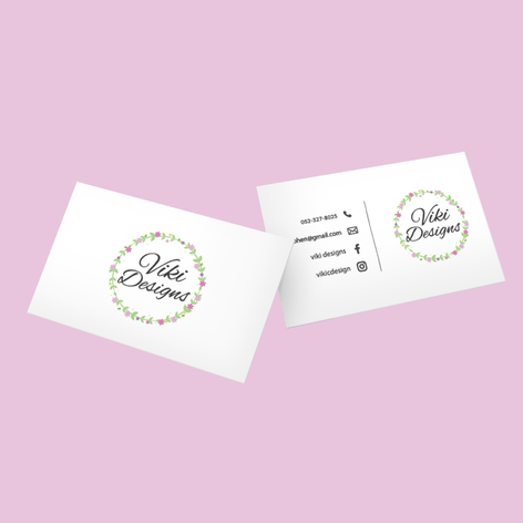 Viki Designs - כרטיס ביקור