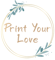 Print Your Love - לוגו