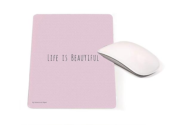 פד מעוצב - life is beautiful   nona