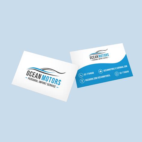 כרטיס ביקור - Ocean Motors