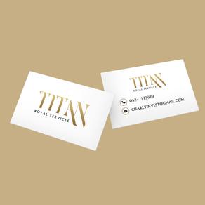כרטיס ביקור - TITAN