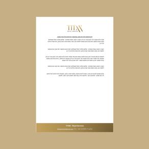 דף לוגו - TITAN