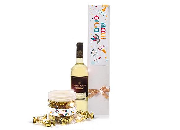 מארז יין ושוקולד   nona