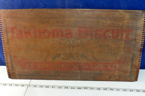 Takhoma Biscuit Wooden Box Lid