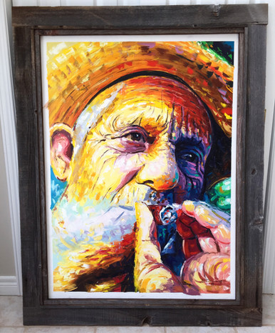 oil-canvas-frame-rustic-works