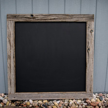 Custom blank chalkboard