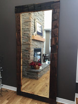 Large 7ft thin beam mirror