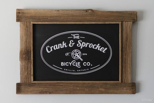 Crank and Sprocket business logo