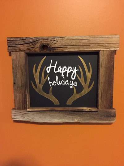 Holiday signs